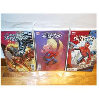 Amazing Spider-Man #800 Set of 10 Variants Covers!! HTF all covers!