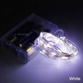 5 meter Battery-operated Mini LED copper wire fairy lights