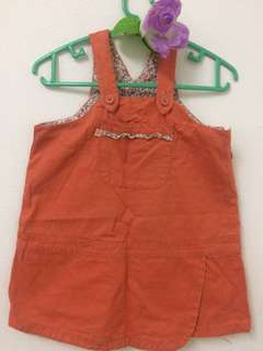 Tenderly Baby Overall Skirt 12 to 18 months
