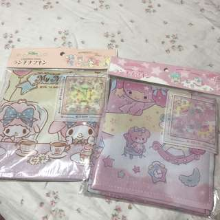 Little twin stars my melody multi purpose deco cloth