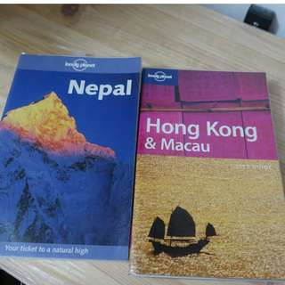Tavel books Nepal Japan Hong Kong New York