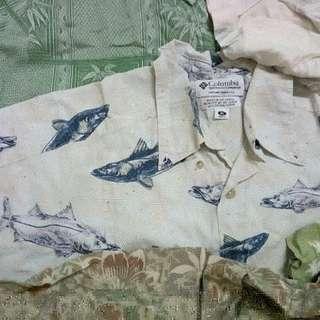 🚚 夏威夷古著寬鬆襯衫 🌿🌸