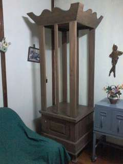 antique pillow rack narra wood
