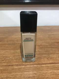 Maybelline Fit Me Foundation in Porcelain #110