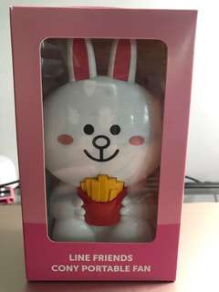 🚚 Line Friends Cony Portable Fan