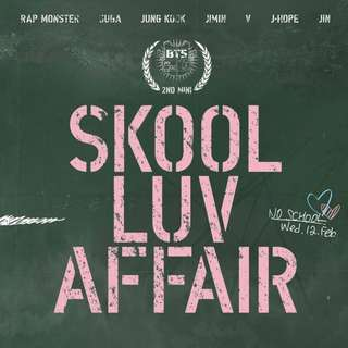 [PRE-ORDER] BTS SKOOL LUV AFFAIR ALBUM