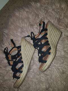 Women wedge heel shoes size 10
