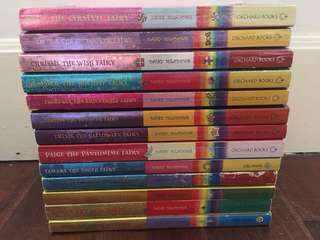 Rainbow magic books $25 for each, $260 for all.