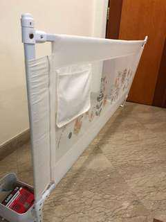 Baby fall prevention bedside net