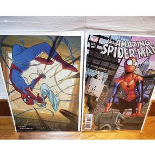 Amazing Spider-Man #801 set of variant Covers!!