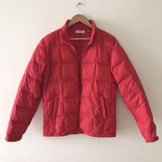 Country Road Red Puffer Jacket