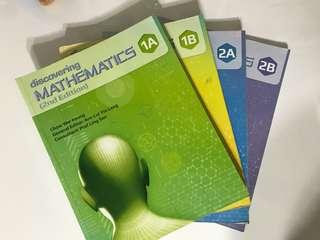 Discovering Mathematics Textbooks