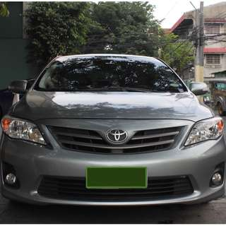 Toyota Corolla Altis 2013 1.6G M/T (50K-55K Mileage) + Free Car Cover and DashCam