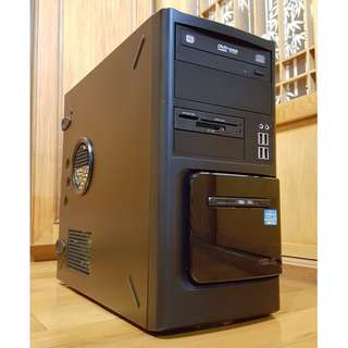 Asus大品牌桌上型電腦主機Intel i7-2600 頂級正八核心 掛網機 文書機 非雙核 機殼CASE 3C