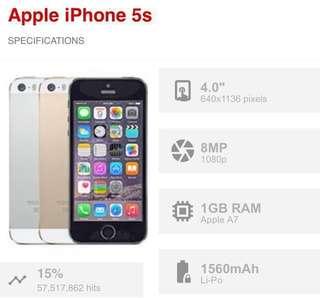 Original Iphone 5s