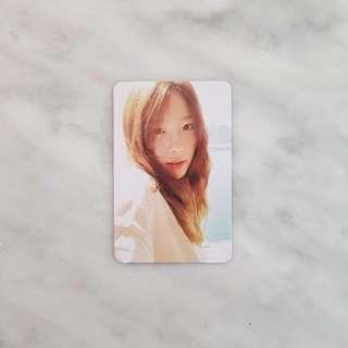 WTB- Taeyeon Photocard