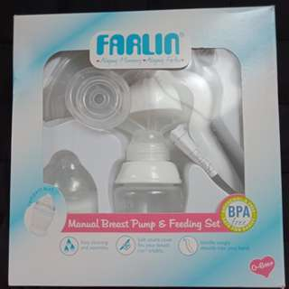 Farlin Manual Breast Pump w/ Thermometer