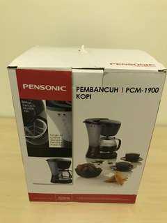 Pensonic 1.2L Coffee Maker PCM-1900 (Brand New)