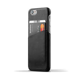 Mujjo iPhone 6, 7, 8 Leather Case (BLACK)