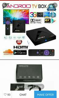 4g ram 32g rom tv android box