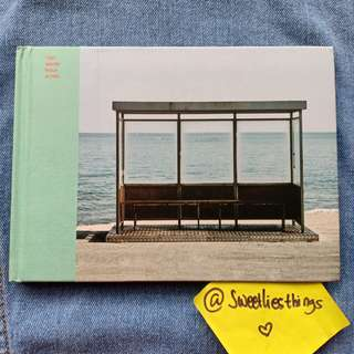 ALBUM BTS YOU NEVER WALK ALONE / YNWA MINT VERS. + HANDFAN JEON JUNGKOOK