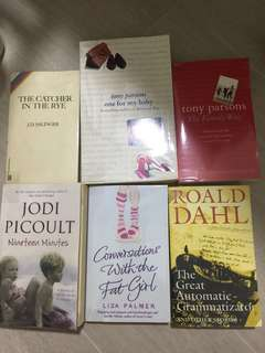 Various books - Clearance Sale!