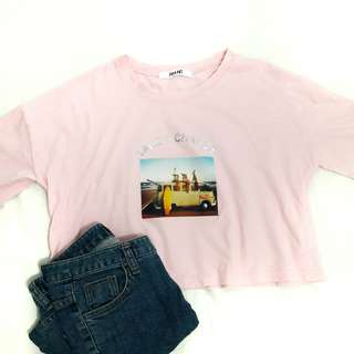 KOREAN CROPPED TOP
