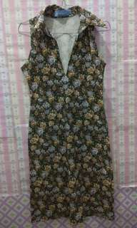 Dress Flower Sleeveless