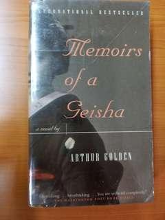 """Arthur Golden """"Memoirs Of A Geisha"""" Book"""