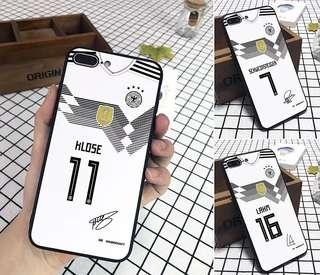 德國隊iPhone case -iPhone 7/8/plus/iPhone X