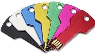 🚚 Marriott 8GB Metal Key USB 2.0 Flash Drive Thumbdrive