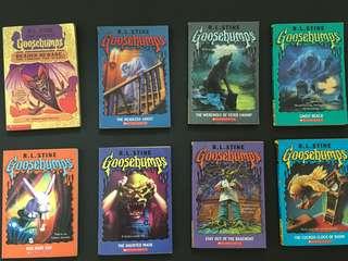 Children story book: Goosebumps ($20 for any 4 books)