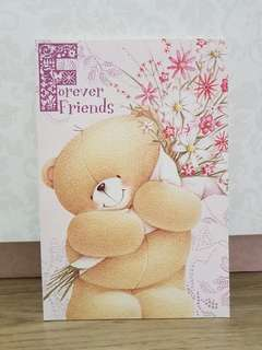 Forever Friends A5 Notebook (Pink Flowers)