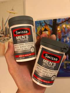 🚚 Swisse Men's Ultivite Multivitamin - 2qty