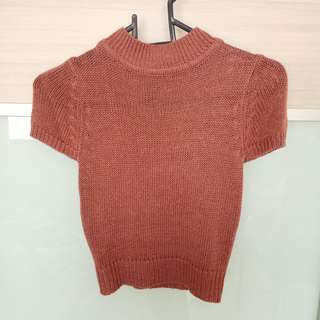 Cute Crop Knitted Top