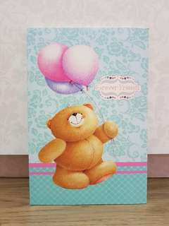 Forever Friends A5 Notebook (Blue Balloons)