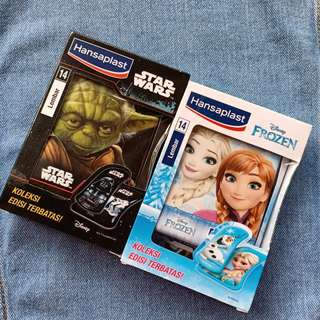 HANSAPLAST SPECIAL LIMITED EDITION STARWARS / STAR WARS DAN DISNEY FROZEN