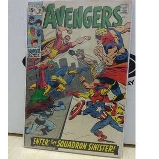 🚚 Avengers Vol. 1 #70 - Origin of Squadron Sinister