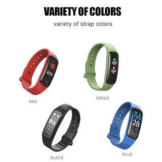 【多功能】防水智能手錶 - WHATSAPP WECHAT FB IG 信息提示/來電顯示/遙控音樂/血壓,心率監測/卡路里計算 /計步器/睡眠監測 Bluetooth smart watch Pedometer IP67 Smart Wristband