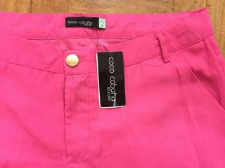 BNEW COCO CABANA PINK PANTS