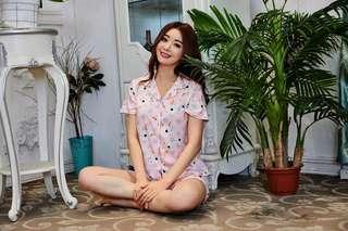 Pajamas Pink Bunny -NEW