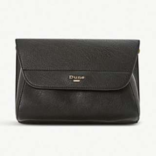 DUNE Ellanaa fold-over clutch bag