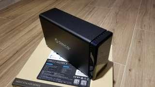 💽Orico外置硬碟盒 Type-C USB3.1 雙硬碟位 磁吸板面 NS200C3 (9成新) harddisk case