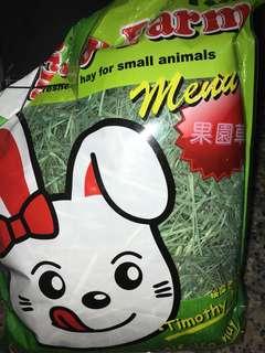 🚚 寵物兔 鼠 果園草