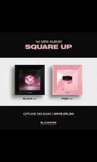 BLACKPINK 1ST MINI ALBUM : SQUARE UP