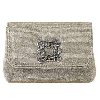 DUNE Beston suede embellished handbag