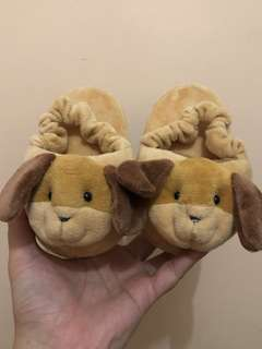 Cute slippers for baby