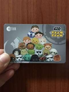 Star Wars Tsum Tsum EZ-Link Card