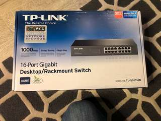 Tp-link 16 port gigabit switch hub