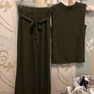 🚚 針織背心+針織長褲
